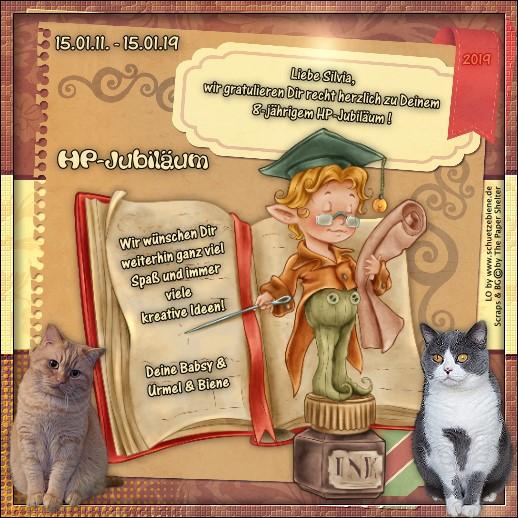 An den Beitrag angehängtes Bild: http://www.schuetzebiene.de/Diverses/Jan-15-1-11-19-Silvia-HP-Jubilaeum.jpg
