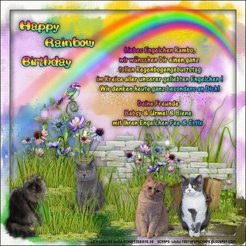 An den Beitrag angehängtes Bild: http://www.schuetzebiene.de/Diverses/juli-21-07-20-RB-Rambo-Rusty-Co-Rainbow-Birthday.jpg