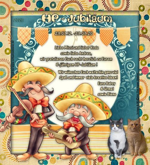 An den Beitrag angehängtes Bild: http://www.schuetzebiene.de/Diverses/juli-23-07-12-20-Amys-Welt-HP-Jubi.jpg