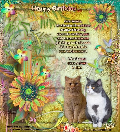 An den Beitrag angehängtes Bild: http://www.schuetzebiene.de/Diverses/mai-15-05-20-Smokey-RustyCo-Birthday.jpg