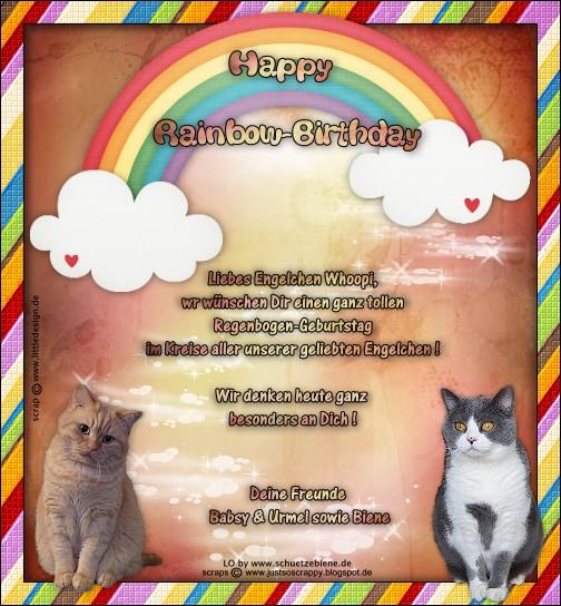 An den Beitrag angehängtes Bild: http://www.schuetzebiene.de/Diverses/mai-26-05-19-RB-Whoopi-RC-Rainbowbirthday.jpg